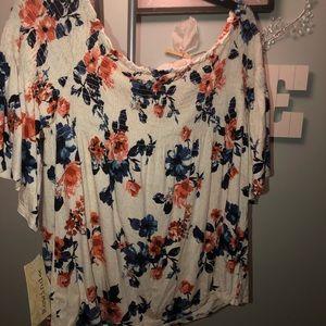 Rewind floral blouse.